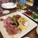 Bavarian antipasta dish. Very nice!