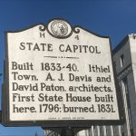 Marker for the Capitol