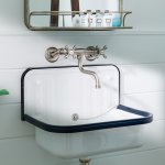 Oceanside King and Oceanside Double Double bathroom sink. Nautical and beach chic!