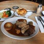 Beef, Pork & Chicken Roast Dinner