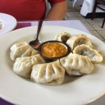 Veggie Momo... Vegetable dumplings