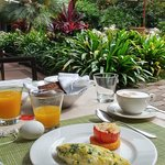 I will miss my morning breakfast retreat. Excellent service!