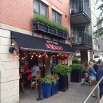 A great restaurant in a super exciting part of Halifax's Lower Water Street