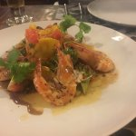 prawn and green mango salad