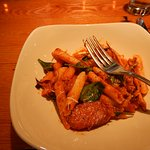 First Nite Penne Pasta with roasted fennel & italian sausage