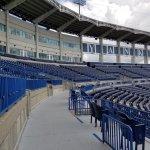 View of third base/left field upper deck