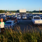 Back shot of the drive in