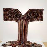 Faig Ahmed: Osho (2015) hand woven wool carpet