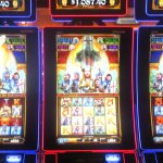 The Holy Grail Slots, Peppermill Hotel Casino, West Wendover, Nevada
