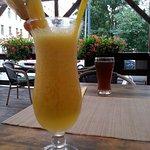Mangoschorle mit frischer Mango! 1a