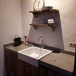 In-room mini kitchen