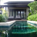Pool access villa 214