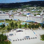 Bird's Eye View of Fiesta Resort & Spa Saipan
