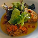 Chilli Chick Pea cakes