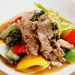 Nue Pad Prik Thai (Stir Fried Meat with Black Pepper)