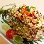 Kao Pad Subparot (Pineapple fried rice)