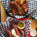 fish sampler and dungeness crab