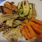 antipasto: verdure grigliate