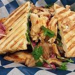 Grilled Chicken Banh Mi Sandwich