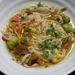 Vegetarian Thai Noodle Bowl