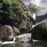 Sanje waterfall nearby