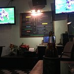 Plenty of room, great cold beer (local prices) & access to all the great games NFL, AFL AND all