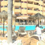 Pano view of the pool