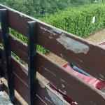 les barrières des balcons ....