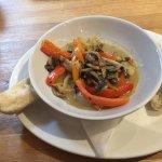 Mushroom pepper pot starter ...recommended