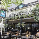The Swan - plenty of outdoor seating for the sunny days