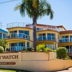 Baywatch Apartments x 6 quality apartments. First level is 2nd story with no stairs + water view