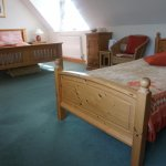 The bedrooms are spacious, well-appointed, beautifully lighted and comfortable.