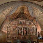 altar y vista general del retablo