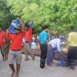 Bagan Earthquake 2016 water donation (CSR)