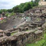 Les ruines de Fourvière
