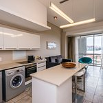 Luxury Suites offer a fully equipped kitchen for your convenience