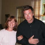 Innkeeper Anne with guest Alec Baldwin