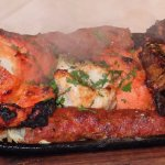 Steaming Tandoori Mixed Grill