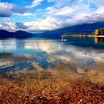 You can rent paddleboards right at Whitefish City Beach!