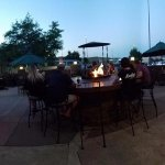 Outdoor Patio with Live Bands on Friday Nights