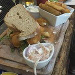 Best fish finger sandwiches in the area. Hand made in the kitchen.