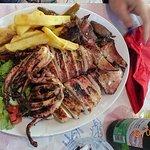 grill octopus delicious