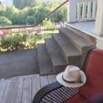 Peaceful veranda.