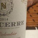 Excellent Red Sancerre Wine