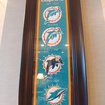 Proud to be next to the Miami Dolphin stadium