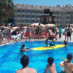 Daytime entertainment / pool games at the main pool