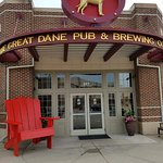 Entrance of The Great Dane Pub & Brewing Company