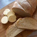We've been making our own butter and bread