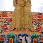 23m high Lord Buddha statue in Likir Monastery