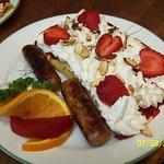 Breakfast on the sweet side